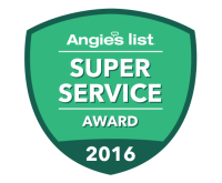Pacific Kitchens Earns the Esteemed 2016 Angie's List Super Service Award for the 6th year in a row!